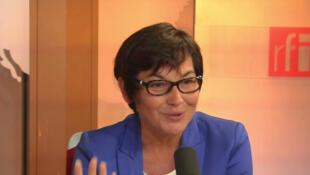 Annick Girardin, secrétaire d'Etat française au Développement et à la Francophonie.