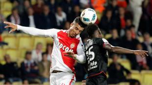 Nabil Dirar lors d'une rencontre face à Dijon en Ligue 1, le 15 avril 2017.
