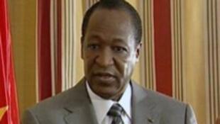 Blaise Compaoré, sur France 24, le 2 juin 2010