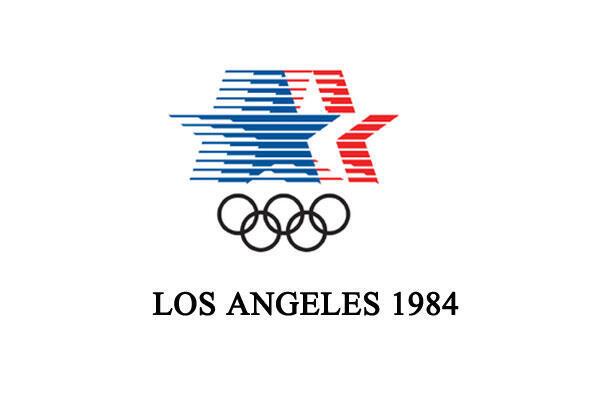Emblème des Jeux Olympiques de 1984 à Los Angeles