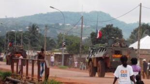 法國司法部門對涉嫌在中非共和國犯有性侵犯行為的士兵展開預審調查 (2014年7月31日)
