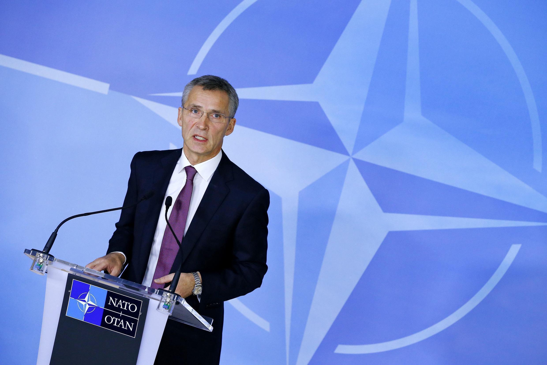 Генеральный секретарь НАТО Йенс Столтеберг