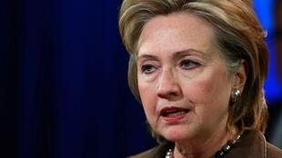 Hillary Clinton, secrétaire d'Etat américaine (oct. 2009, Washington)