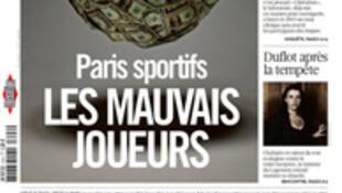Capa do jornal francês Libération desta quinta-feira, 04