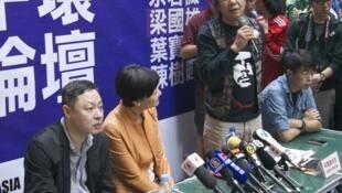Giới đấu tranh ở Hồng Kông thảo luận về việc bảo vệ hình thức bầu cử theo phổ thông đầu phiếu - RFI /Chine/郑汉良