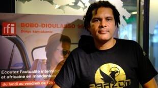 Le rappeur Serge Bambara, alias Smockey, est un leader du Balai citoyen, mouvement de la société civile.
