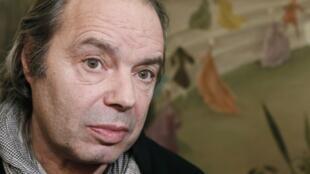 Philippe Djian, lauréat du prix Interallié pour son roman « Oh… », le 14 novembre 2012.
