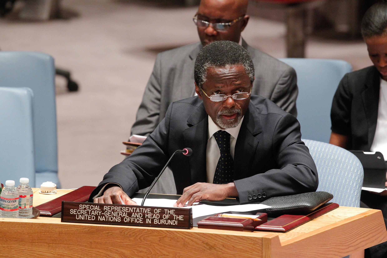 Le Gabonais Parfait Onanga-Anyanga a été nommé à la tête de la Minusca après la démission du Sénégalais Babacar Gaye.