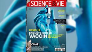 Couverture Science & vie, novembre 2020. Covid-19: enquête sur le vaccin.