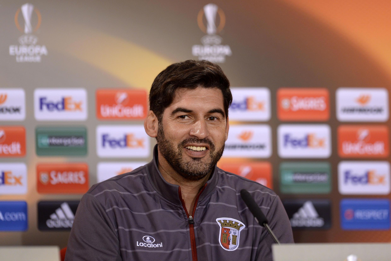 Paulo Fonseca, treinador do Sporting de Braga.