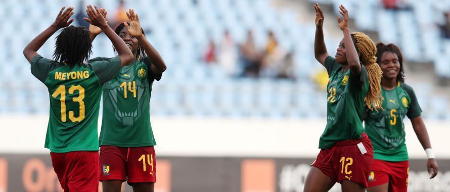 Wachezaji wa timu ya taifa ya Cameroon