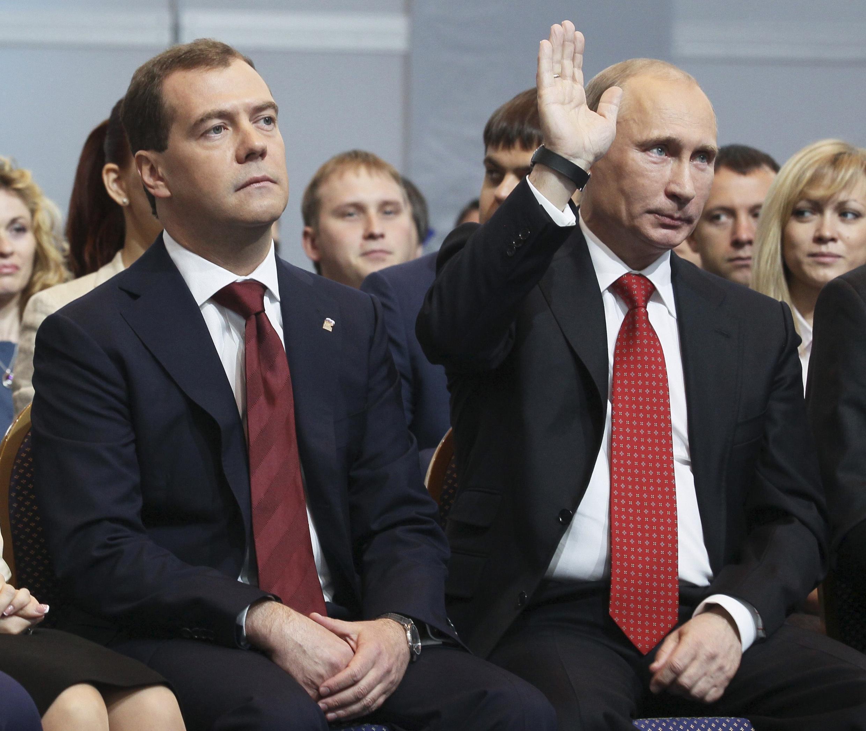 Дмитрий Медведев, Владимир Путин, 26 мая 2012