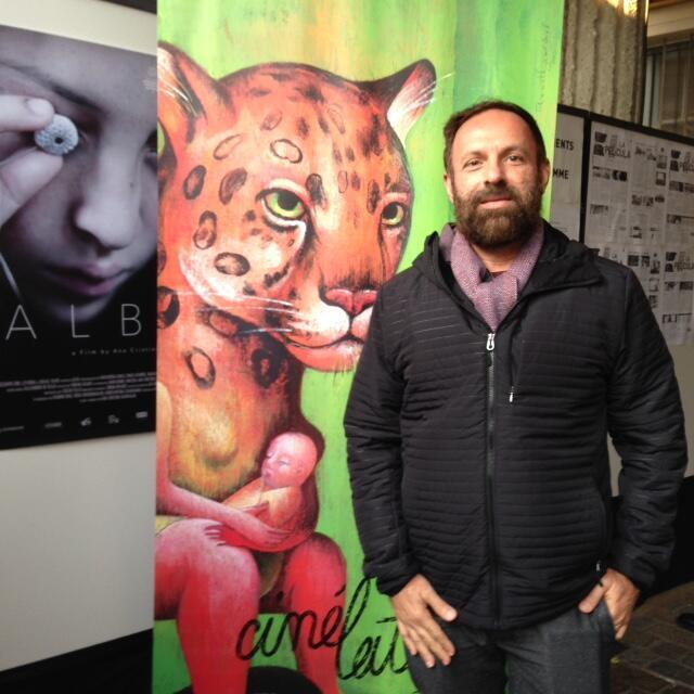 Cineasta brasileiro Sérgio Andrade que participa do Festival  Cinélatino de Toulouse.
