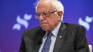Le candidat à l'investiture démocrate Bernie Sanders était présent au forum «She The People» le 24 avril 2019, avant son meeting à Houston.