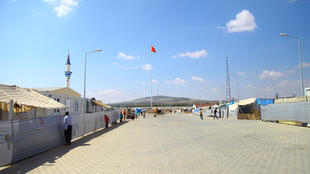Inside Kilis camp in Turkey