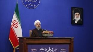نخستین سخنرانی حسن روحانی،پس از پیروزی در انتخابات ریاست جمهوری که مستقیماً از صدا و سیمای جمهوری اسلامی ایران پخش شد.