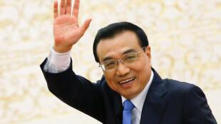 Thủ tướng Trung Quốc Lý Khắc Cường tại một cuộc họp báo sau khi kỳ họp Quốc Hội bế mạc, ngày 15/03/2017.