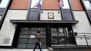 Les diplomates de l'ambassade des Philippines au Canada, située à Ottawa, ont été rappelés par le président Duterte.