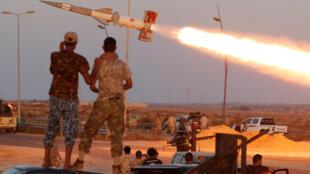 Wani dauki-ba-dadi a birnin Sirte, mahaifar tsohon shugaban kasar Libya, Mu'ammar Ghaddafi