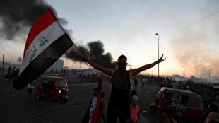 伊拉克首都巴格达再次爆发反政府示威。