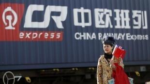 从义乌到伦敦--第一列中国货运火车抵英
