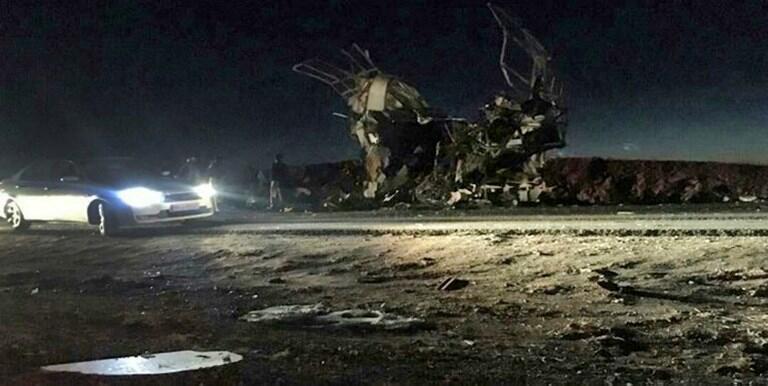 2月13日針對伊斯蘭革命衛隊的爆炸襲擊