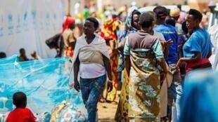 Des réfugiés burundais au Rwanda à Gashora en 2015. (Illustration).