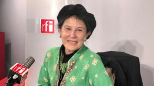 Irène Frain à RFI (octobre 2020).