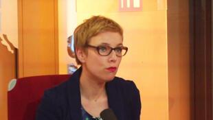 Clémentine Autain, députée (FI) de la 11e circonscription de Seine-Saint-Denis.