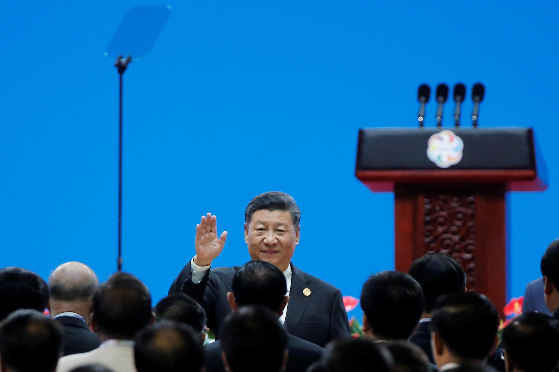 Chủ tịch Trung Quốc Tập Cận Bình tại Hội Thảo về Đối Thoại giữa các nền Văn Minh Châu Á tại Bắc Kinh (Trung Quốc) ngày 15/05/2019.
