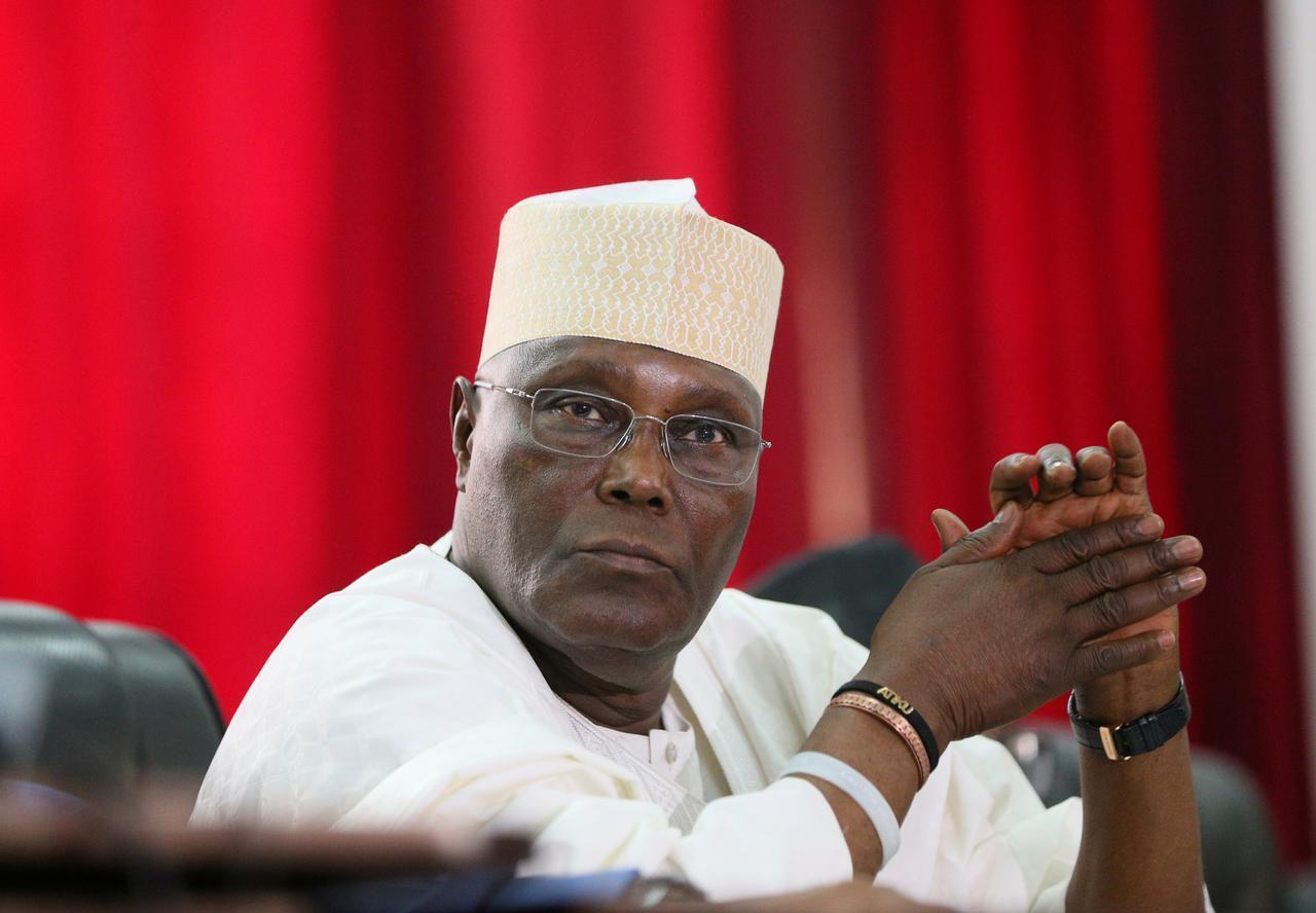 Atiku Abubakar, dan takarar shugabancin Najeriya karkashin Jam'iyyar PDP.