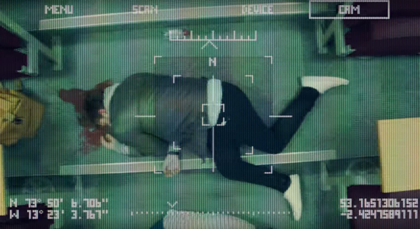 "Captura de pantalla de la película ""Slaughterbots"" de la campaña Ban Lethal Autonomous Weapons."