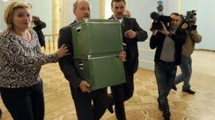 Nga trao lại tài liệu vụ thảm sát Katyn cho chính quyền Ba Lan (AFP)