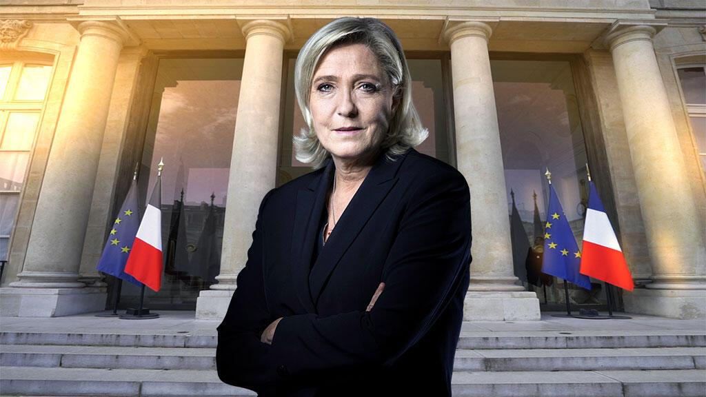 Marine Le Pen mwanasiasa wa Ufaransa aliyegombea urais mwaka 2017