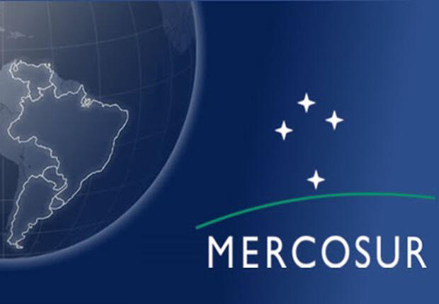 Logo Mercosur.