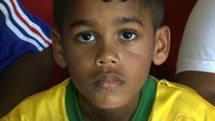 Wani Yaro Dan kasar Brazil da aka radawa sunan 'Yan wasan Faransa Zidane Thierry Henry Barthez