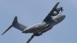 L'avion de transport militaire A400M est à l'honneur pour le défilé du 14-Juillet.