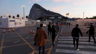 Gibraltar Frontière