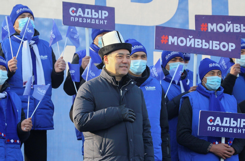 KYRGYZSTAN-ELECTION Kirghizistan - Sadyr Japarov - élection