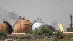 Ma'aikatar samar da iskar Gas da ISIS ta kai wa hari a Bagadaza na Iraqi