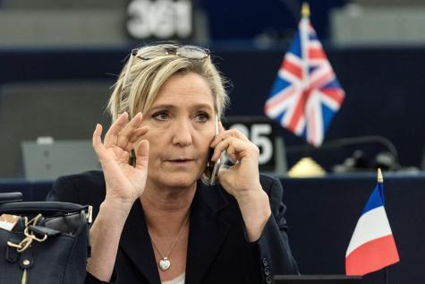 A eurodeputada francesa Marine Le Pen