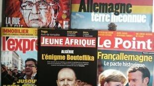 Imprensa Semanal francesa.