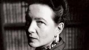 西蒙娜·波伏娃 (Simone de Beauvoir, 1908-1986.)
