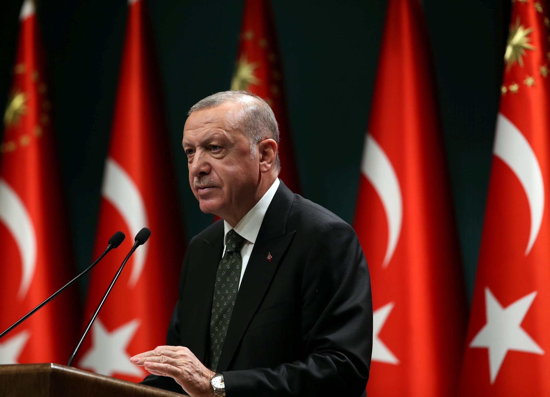 Shugaba Recep Tayyip Erdogan na Turkiya.