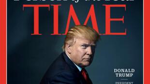 """Báo Mỹ, Time chọn Donald Trump là """"nhân vật"""" của năm 2016."""