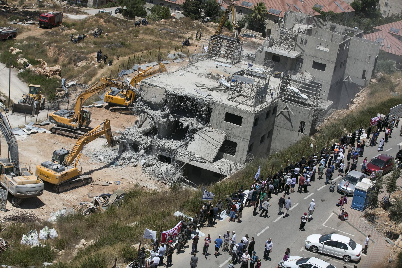 以色列准备在约旦河西岸贝特艾建造犹太人定居点 2015年7月29日