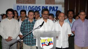 Las FARC anunciaron este miércoles 8 de julio 2015 un cese al fuego unilateral de un mes. AFP PHOTO/ FARC-EP.