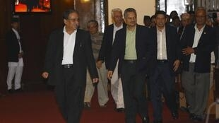 Maoist chief and prime ministerial candidate Prachanda