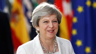 Theresa May en Bruselas, el pasado 22 de junio de 2017.