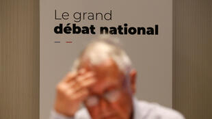 Lors du grand débat national à Marseille, le 15 mars 2019.